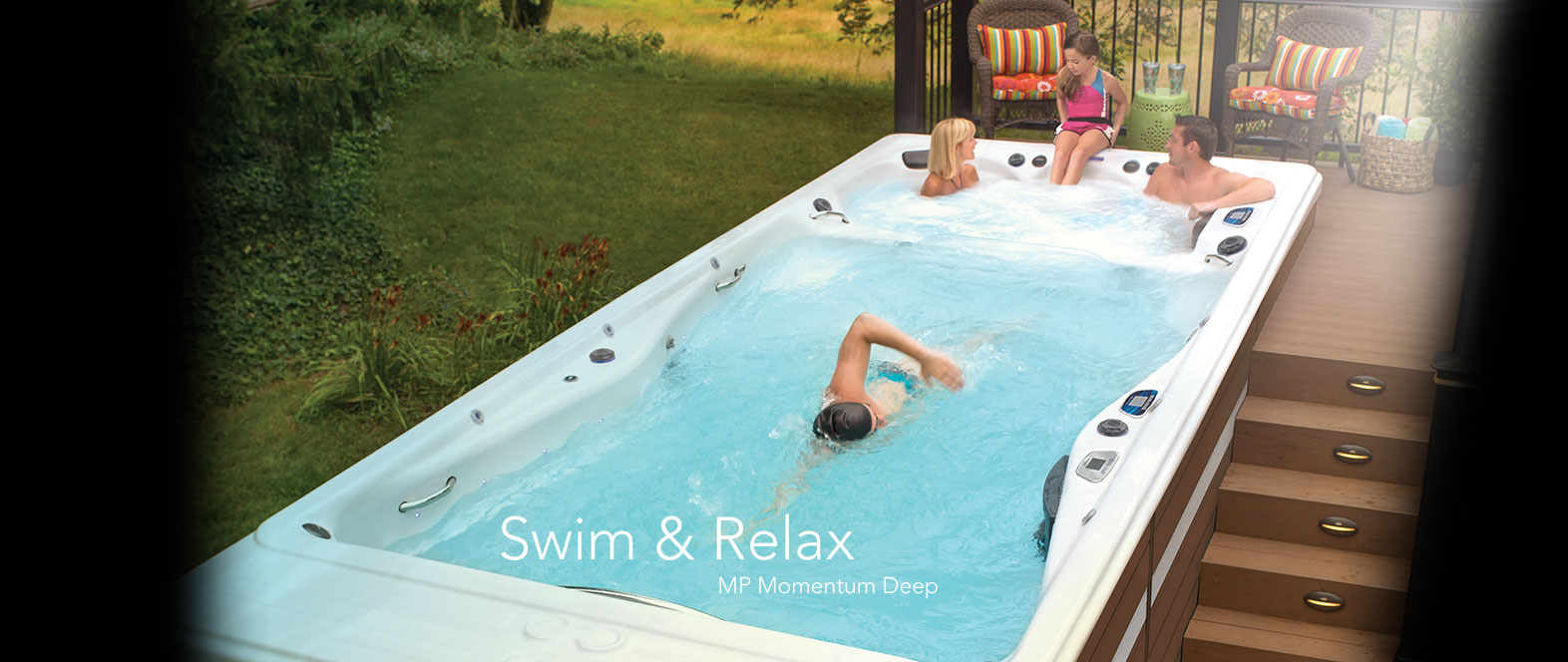 Swim & Relax in a MP Momentum™ Deep