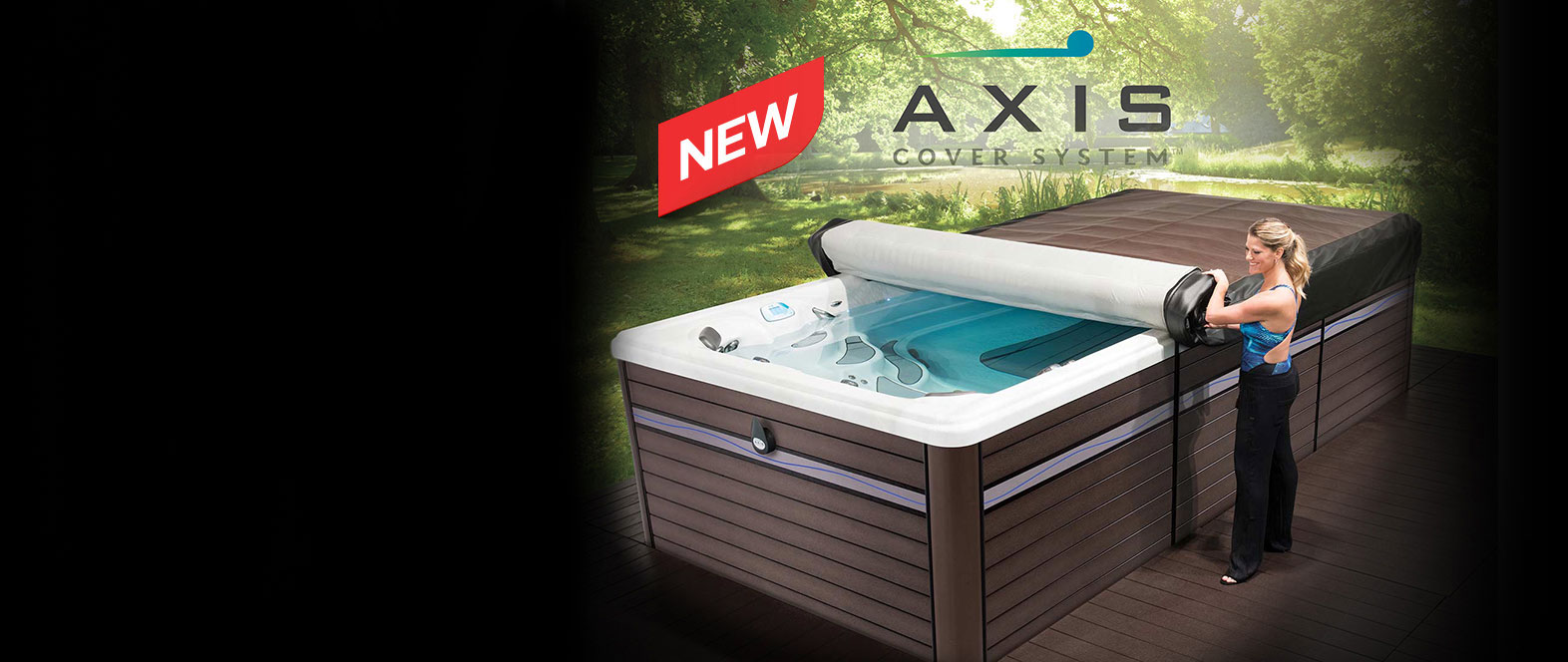 Axis Cover System by Master Spas