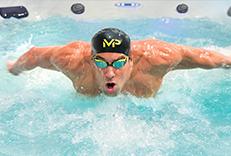 swim spas by master spas michael phelps signature swim spa
