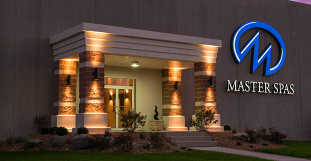 Master Spas Manufacturing Facility.