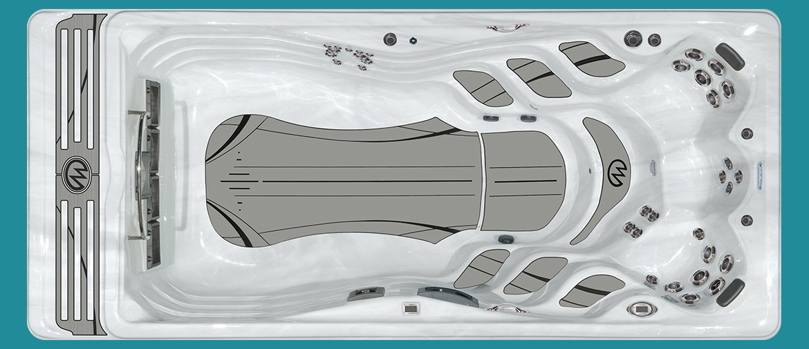 Michael Phelps Signature Series Swim Spa - Signature Model.