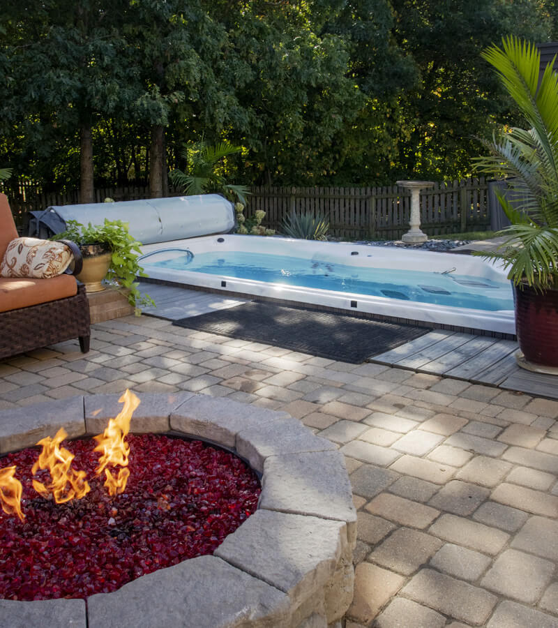 Backyard Swim Spa Inspiration
