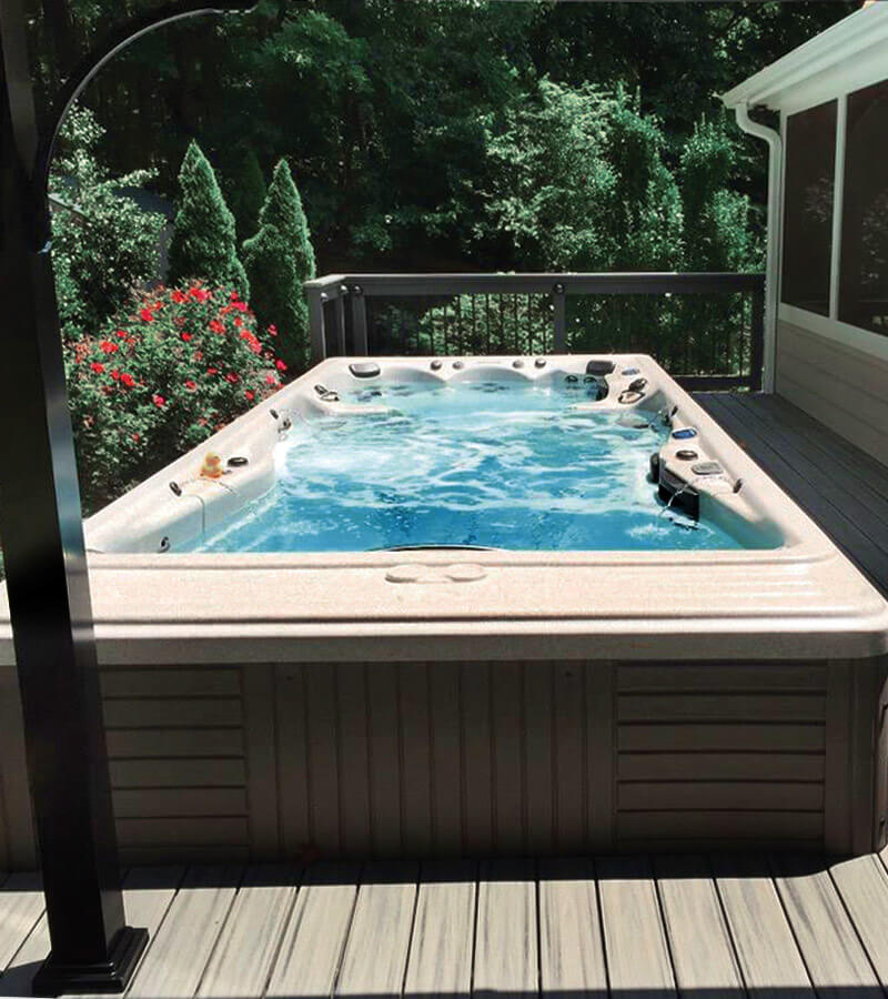 Deck Swim Spa