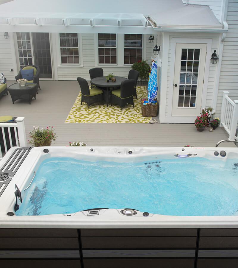17-Foot Swim Spa