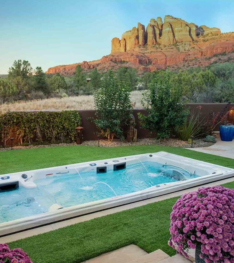 Desert Swim Spa Views