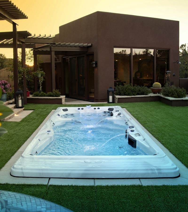 Backyard Swim Spa Inspiration in Arizona