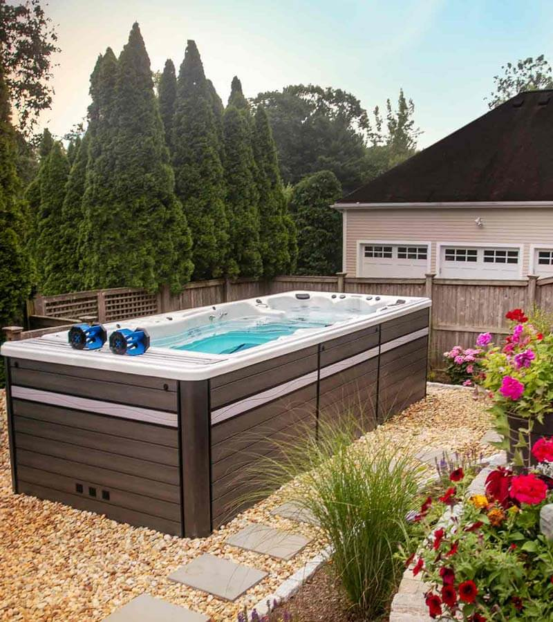 Backyard Exercise Pool