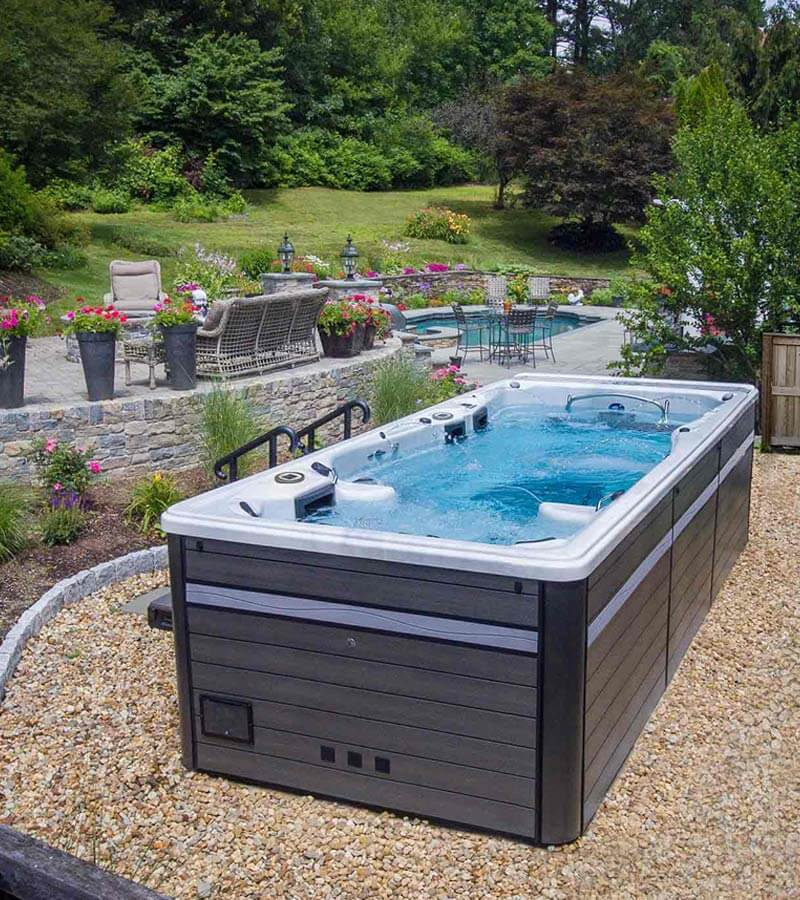 Above Ground Swim Spa