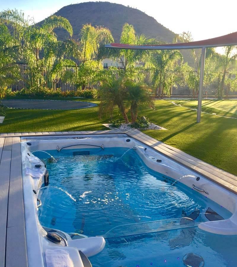 Recessed Swim Spa