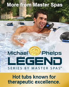 Michael Phelps Legend Series by Master Spas.
