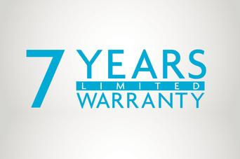 7 Year Shell Surface Warranty