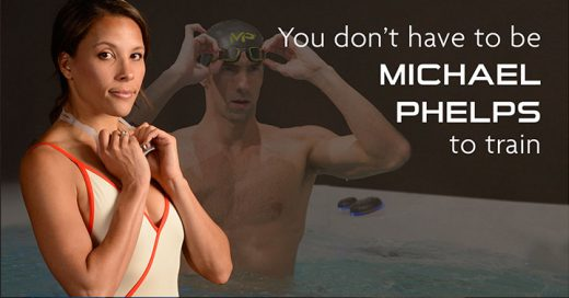 You don't have to be michael Phelps to train