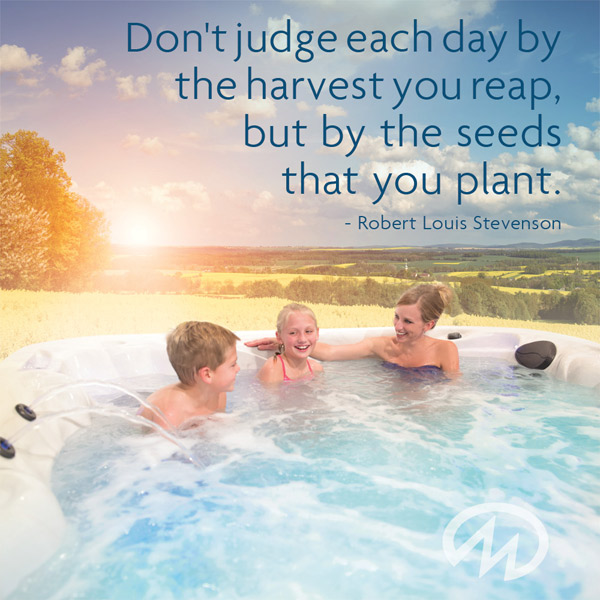 Don't judge each day by the harvest you reap, but by the seeds that you plant