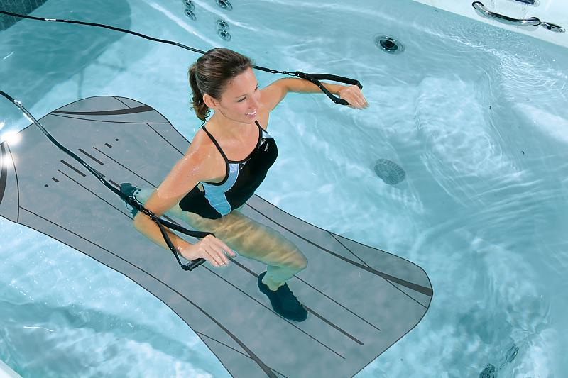 water exercise equipment