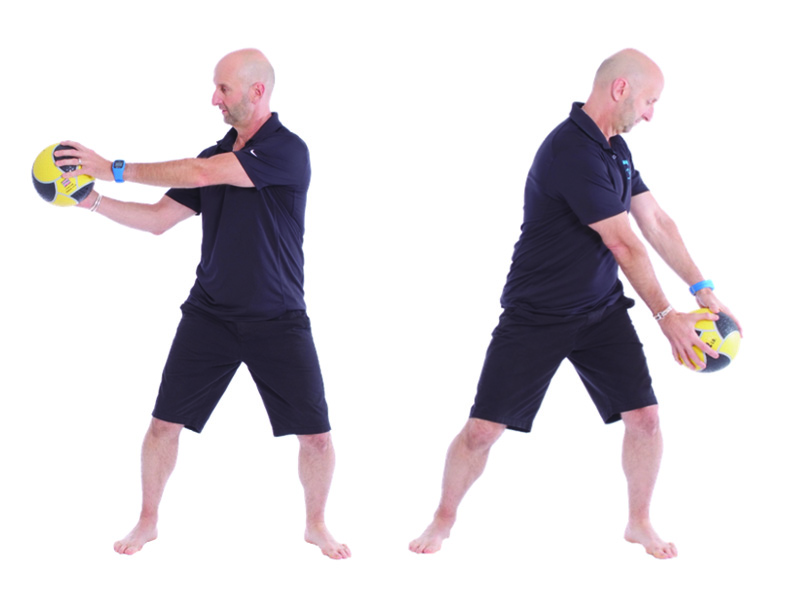 exercise with ball