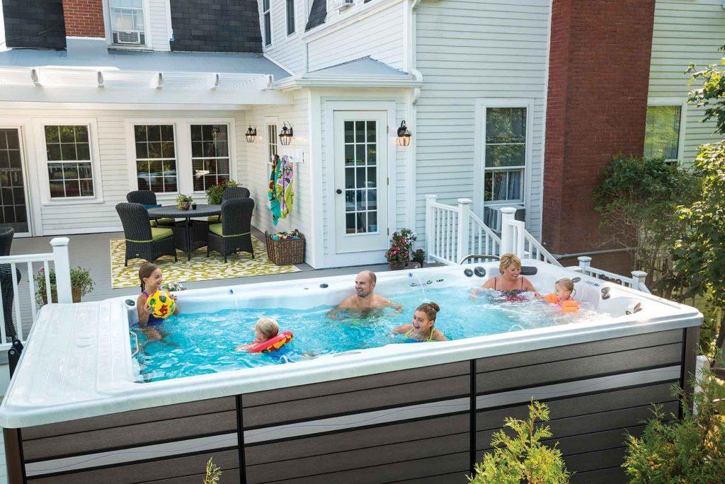 lap pool vs swim spa