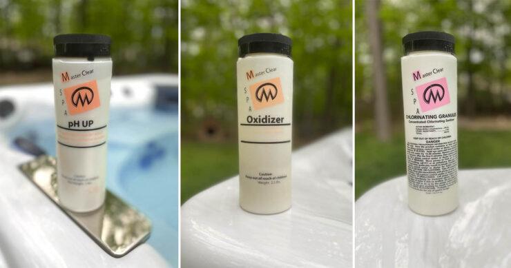 swim spa water maintenance