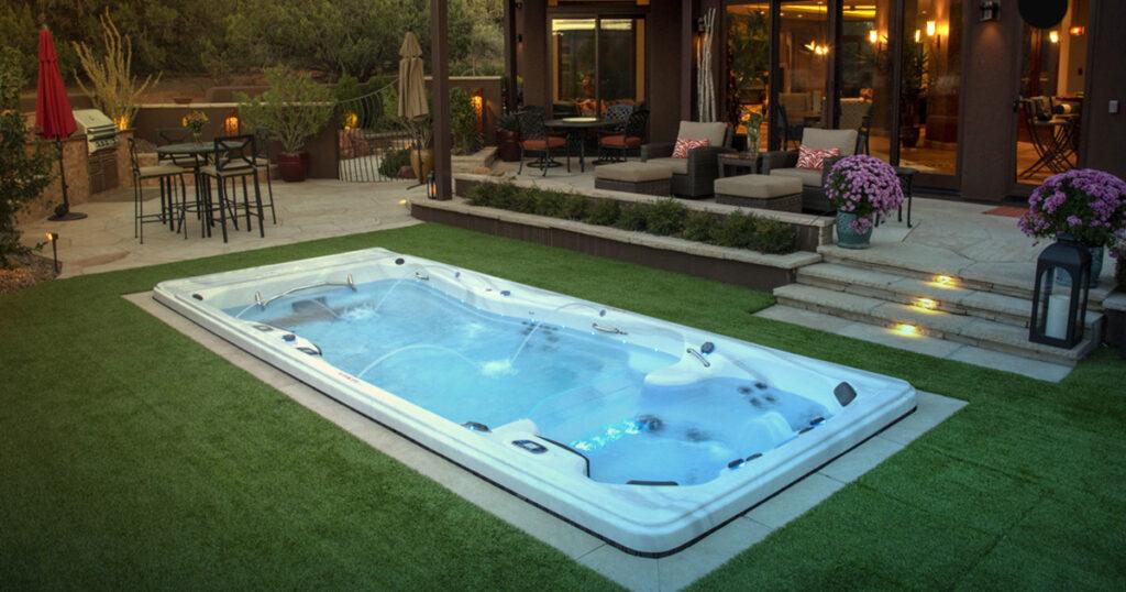 Michael phelps swim spa