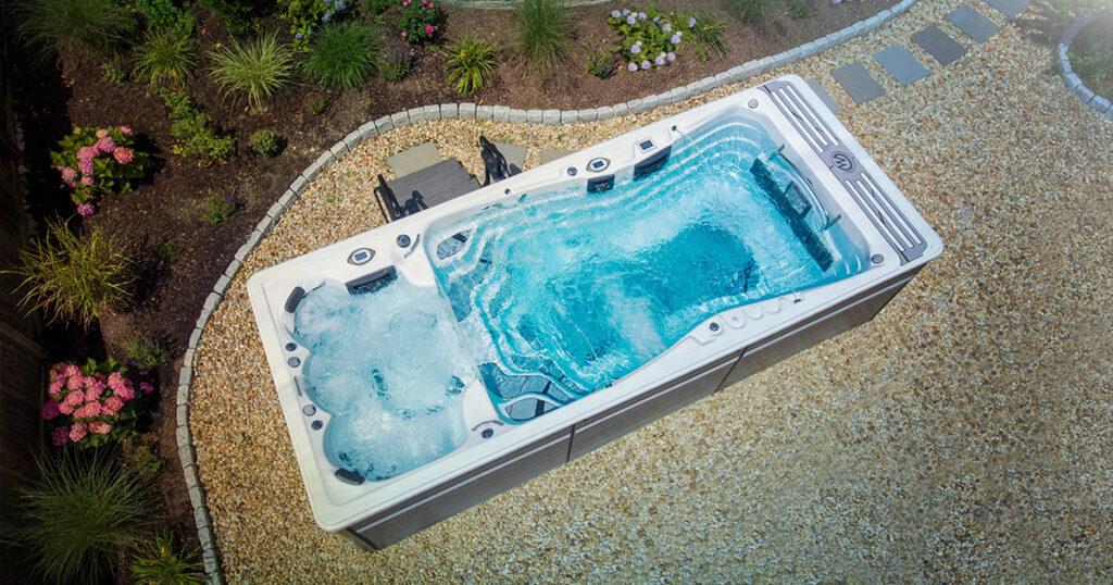 dual temperature spa
