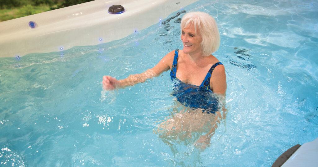 swim spa fitness