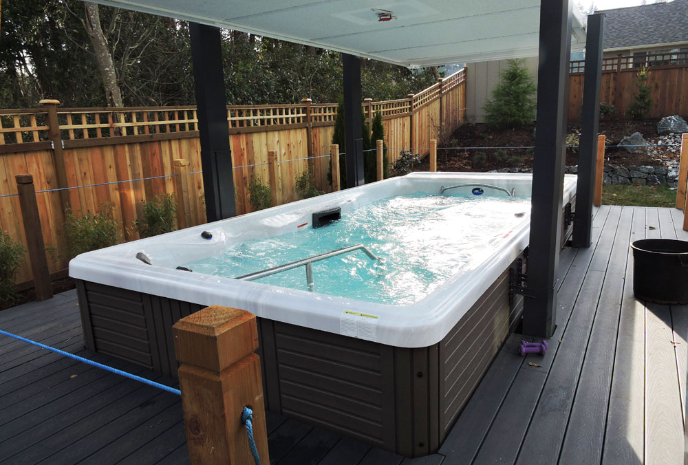 Backyard Ideas For Your Michael Phelps Swim Spa