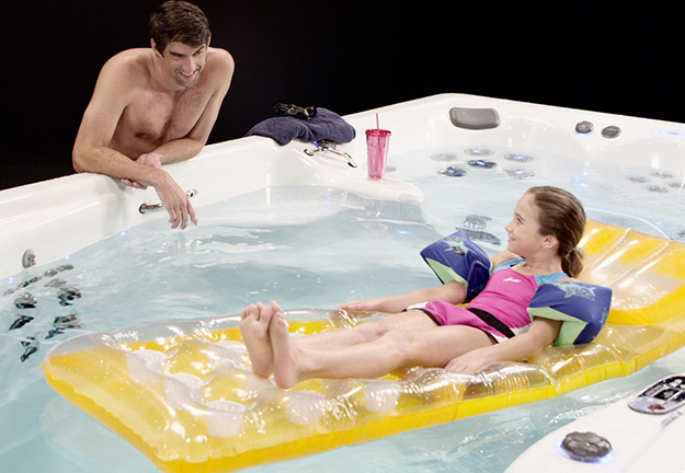 Michael Phelps Swim Spa TV Commercial